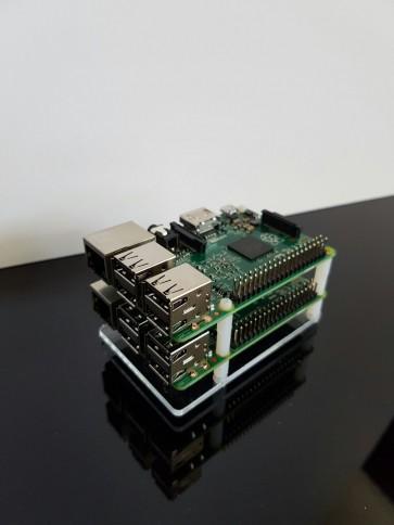Plexiglas With Raspberry