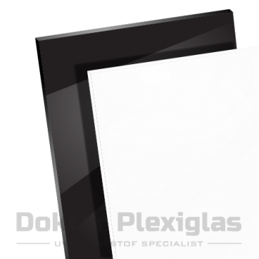 Plexiglas Zwart wit