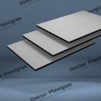 HPL Exterieur plaat 6 mm Grijs RAL 7035