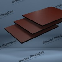HPL Exterieur plaat 6 mm Rood RAL 3004