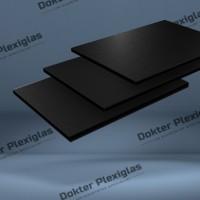 HPL Exterieur plaat 6 mm Zwart RAL 9017
