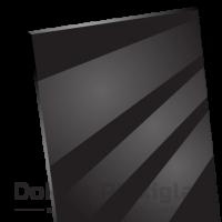 Plexiglas Zwart